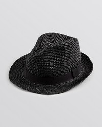 John Varvatos Usa Straw Fedora
