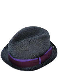 Paul Smith Ribbon Detail Straw Hat