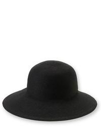 Eric Javits Squishee Iv Wide Brim Hat Brown