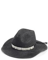 BCBGeneration The Western Straw Panama Hat