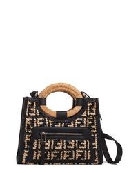 ff3c27159 Women's Black Tote Bags by Fendi | Women's Fashion | Lookastic.com
