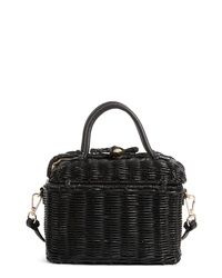Ulla Johnson Woven Rattan Bag