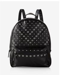 Express Studded Metal Grommet Backpack
