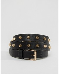 Vero Moda Studded Embossed Belt