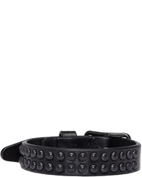DSQUARED2 Black Studded Bracelet