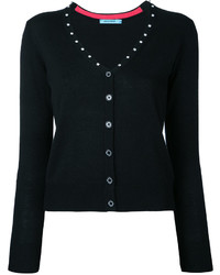GUILD PRIME Diamant Studded V Neck Cardigan
