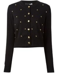 Love Moschino Studded Cardigan