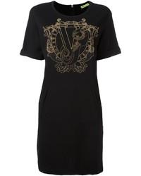 Versace Jeans Studded Embellished T Shirt Dress
