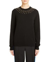 Givenchy Studded Wool Cashmere Sweater