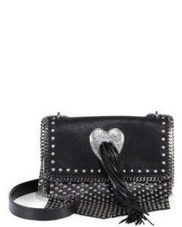 Stella McCartney Biker Studded Crossbody Bag
