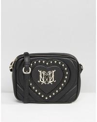 Love Moschino Studded Heart Mini Cross Body Bag
