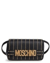 Studded logo crossbody bag black medium 1150898