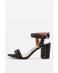 Topshop Morocco Studded Heeled Sandals