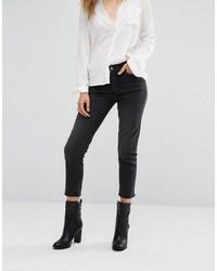 Mango Studded Mom Jeans