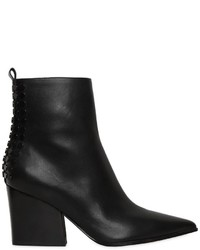 70mm Felix Studded Leather Ankle Boots