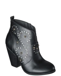 Adesso Mossimo Supply Co Karis Studded Ankle Boots Black 6