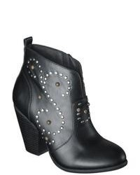 Adesso Mossimo Supply Co Karis Studded Ankle Boots Black 7