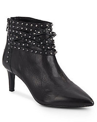 Ash Dangerous Studded Leather Ankle Boots