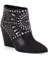 BCBGMAXAZRIA Creed Geometric Studded Bootie