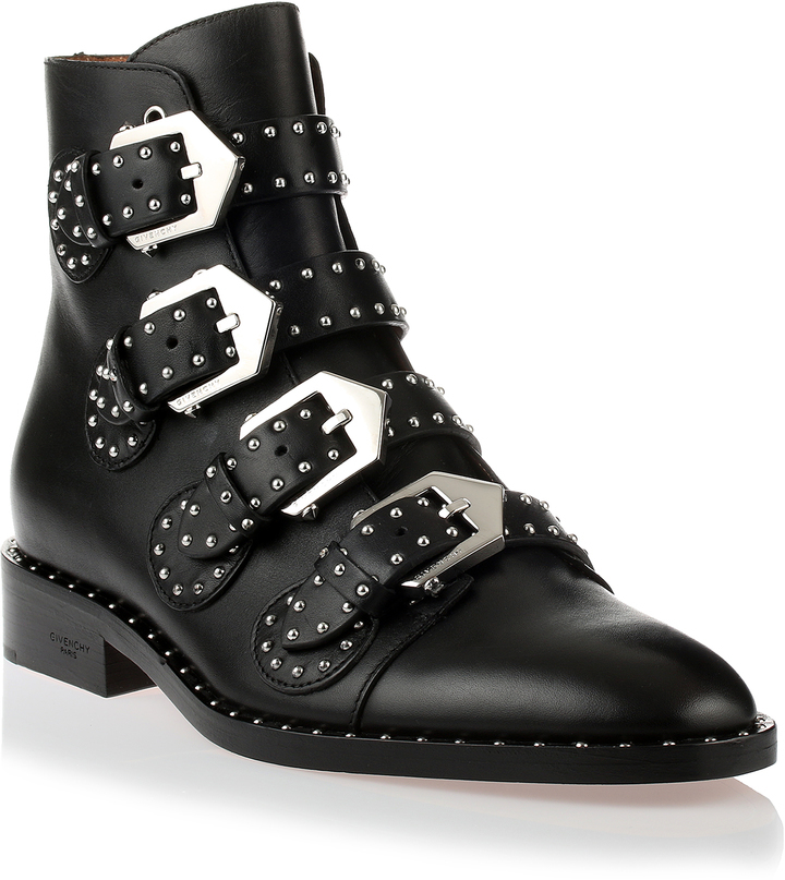 ... Givenchy Black Studded Ankle Boot ... 6195178e7331