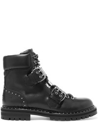 Jimmy Choo Breeze Studded Leather Ankle Boots Black
