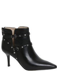 Carolinna Espinosa Enid Leather Point Toe Ankle Boots