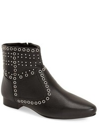 French Connection Charlene Grommet Stud Ankle Bootie