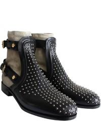 Chloé Chloe Black Leather Ankle Boots