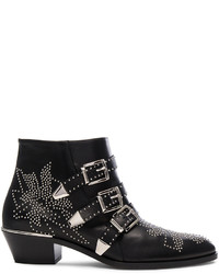 Chloé Chloe Susanna Leather Studded Booties