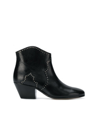 Isabel Marant Dicker Micro Studed Ankle Boots