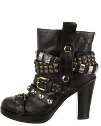 Dolce & Gabbana Stud Embellished Booties