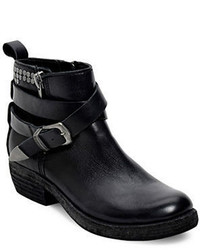 Dolce Vita Joey Studded Leather Ankle Boots
