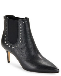 424 Fifth Dyllon Studded Leather Booties