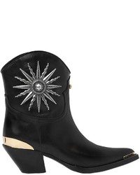 Fausto Puglisi 55mm Sun Studded Leather Cowboy Boots