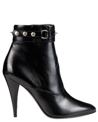 Saint Laurent Fetish Studded Leather Ankle Boots