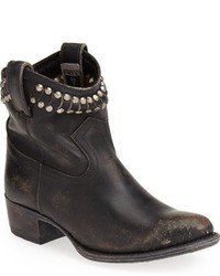 Frye Diana Cut Studded Leather Short Boot
