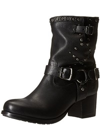 Frye Vera Stud Moto Short Motorcycle Boot