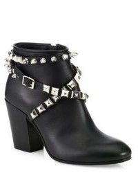 Giuseppe Zanotti Birel Studded Leather Booties