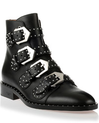 Givenchy Black Studded Ankle Boot