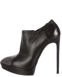 Saint Laurent Janis Studded Ankle Boots