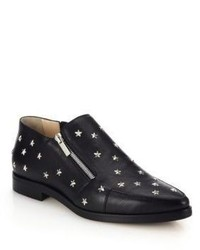 Jimmy Choo Maida Star Studded Leather Ankle Boots