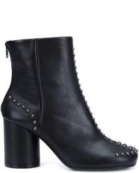 Maison Margiela Studded Sock Ankle Boots