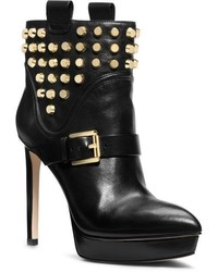 Michael Kors Michl Kors Bryn Studded Leather Ankler Boot