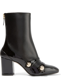 No.21 No 21 Studded Leather Boots Black