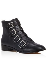 Rebecca Minkoff Maddox Studded Buckle Booties