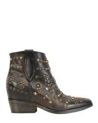 Strategia 80mm Embellished Leather Boots