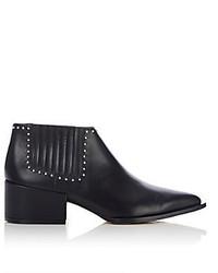 Givenchy Stud Embellished Chelsea Boots Black