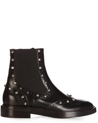 Balenciaga Studded Brogue Chelsea Boots
