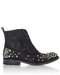 Sartore Studded Laceless Boots