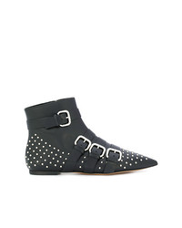 RED Valentino Studded Pointed Toe Boots